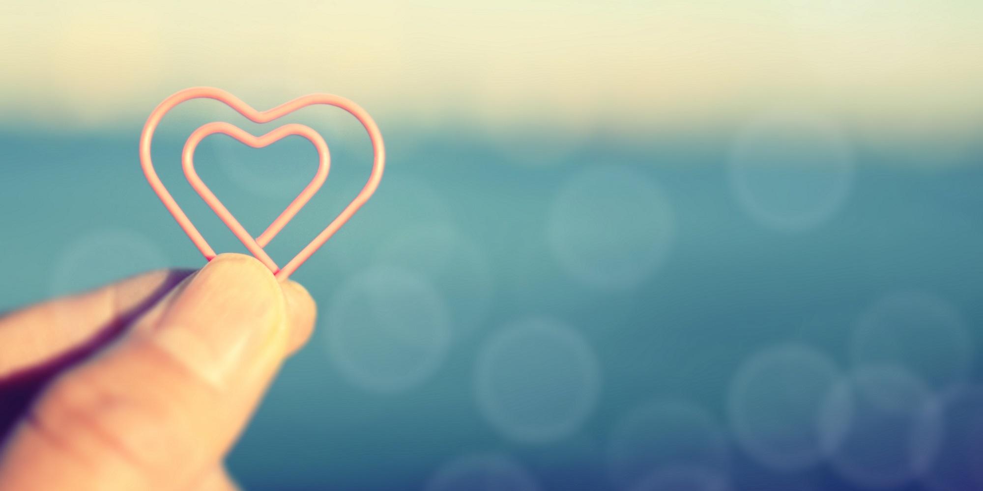 grab the Heart.retro photo image.